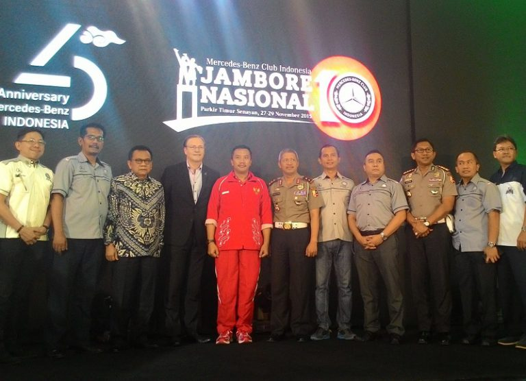 Didukung Penuh Mercedes-Benz Indonesia, MBClubINA Gelar Jambore Nasional X di Jakarta