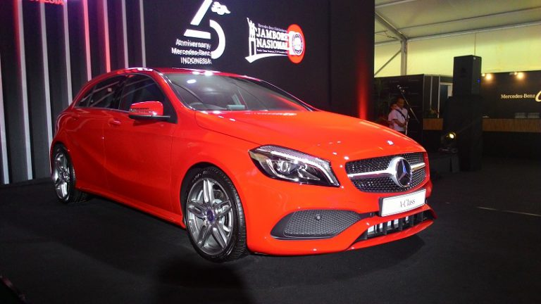 Meriahkan JamNas X MBClubINA, Mercedes-Benz Luncurkan A-Class Generasi Terbaru
