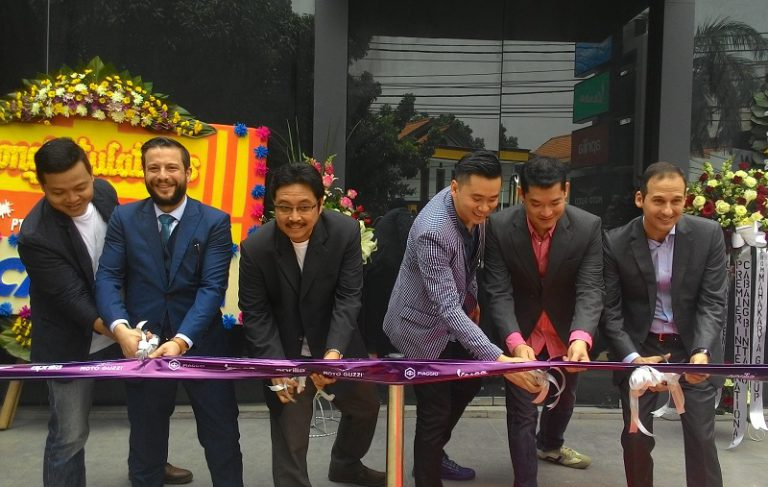Jual Empat Merek Sekaligus, Piaggio Indonesia Buka Premium Concept Store di Bintaro
