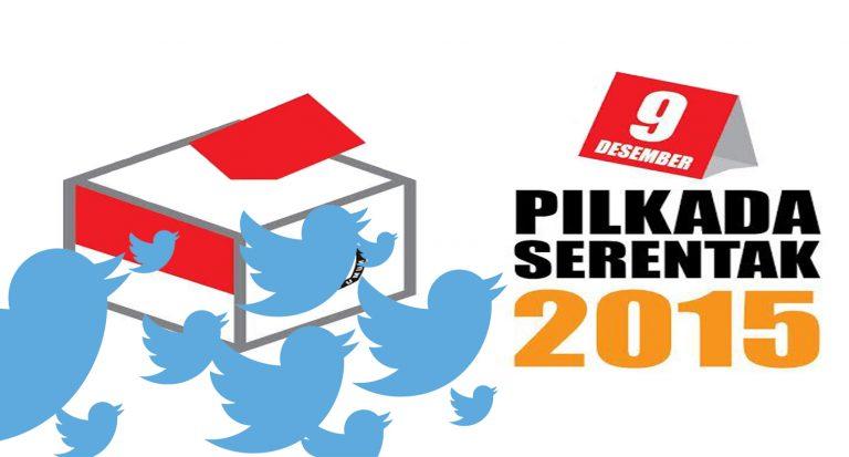 Pengguna Twitter di Surabaya Paling Aktif Berkicau Seputar Pilkada 2015