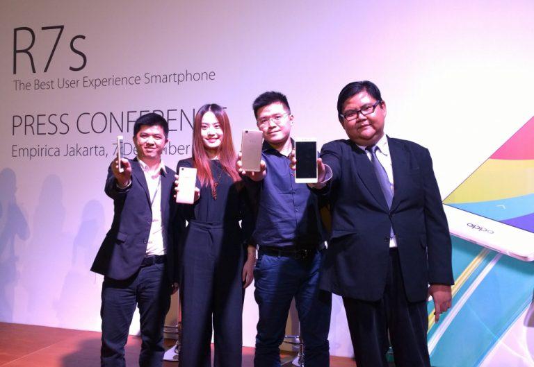 Oppo R7s: Smartphone Perdana Oppo dengan RAM 4 GB Hadir di Indonesia