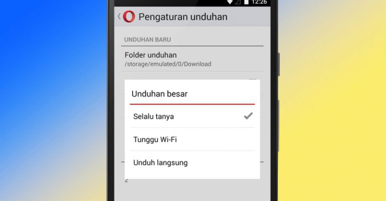 Opera Mini Android Terbaru Optimalkan Fungsi Download Manager
