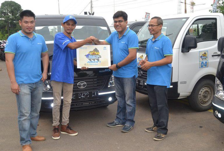 Sukses di Surabaya, Kompetisi Irit Bahan Bakar Tata Super Ace Rambah Lampung