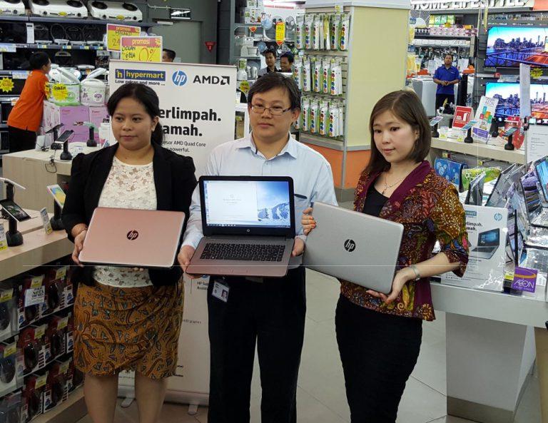 Dijual Eksklusif di Hypermart, AMD dan HP Rilis Notebook untuk Pelajar