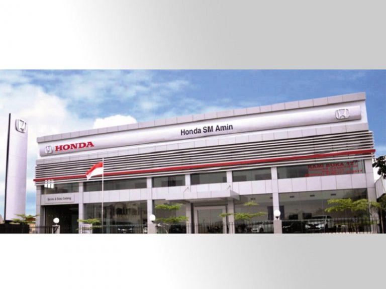 PT HPM Resmikan Dealer Ketiga di Pekanbaru, Fasilitas 3S Plus Body Painting