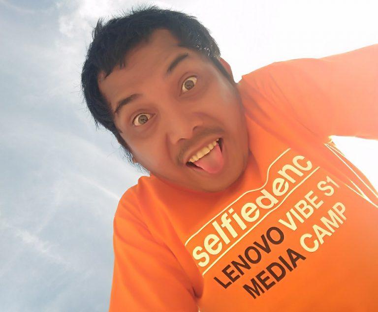 Vibe S1 Media Camp: Foto Selfie dengan Vibe S1 di Pulau Dewata