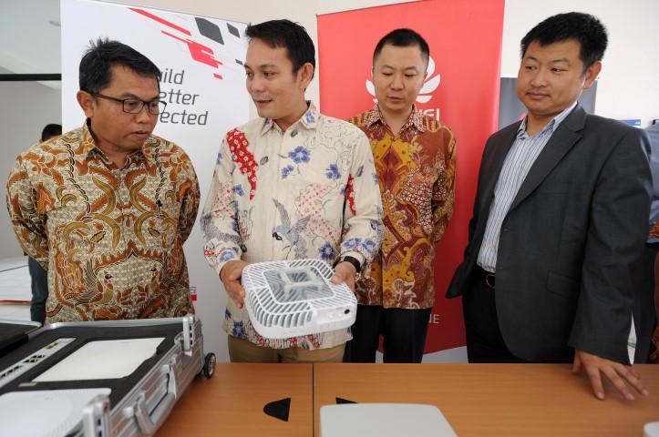 Huawei Ajak Telkomsel dan Universitas Indonesia Bangun Pusat Inovasi Bersama