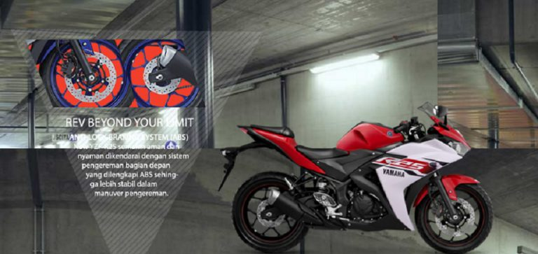 Setelah Racing Blue, Yamaha YZF-R25 Versi ABS Hadir dengan Dua Warna Baru