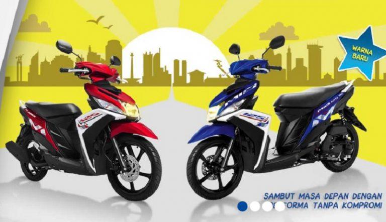 Yamaha Mio M3 Warna dan Grafis Baru, Sebarkan Semangat Positif Anak Muda