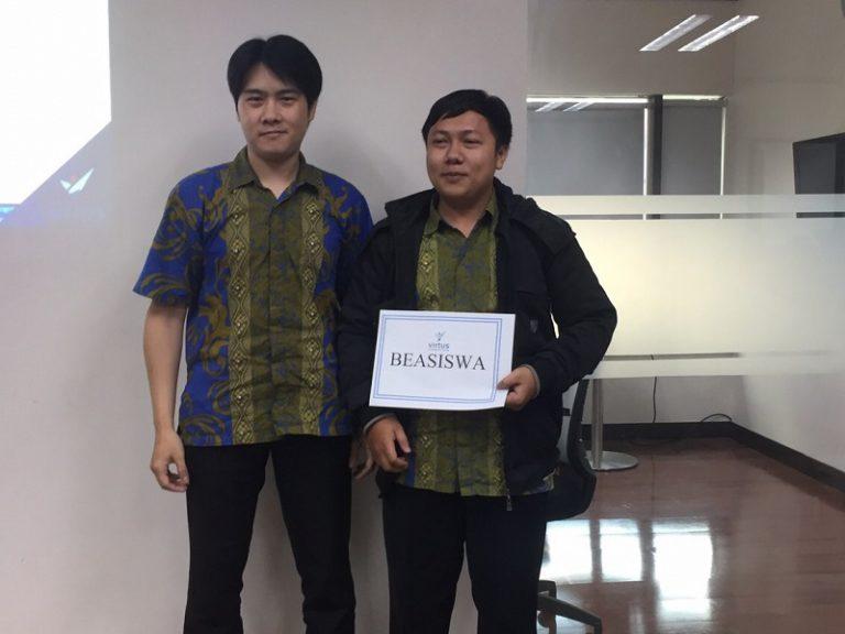 Virtus Umumkan Pemenang Beasiswa Pendidikan S1 Bagi Lulusan SMK Berprestasi