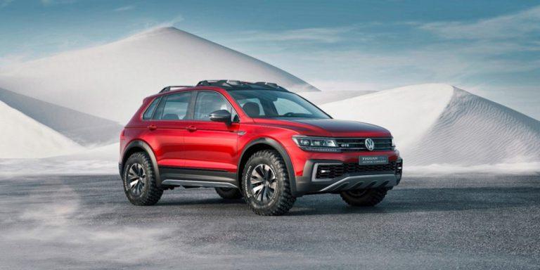 Mobil VW Tiguan GTE Active Concept Hadir dalam Mode Hybrid