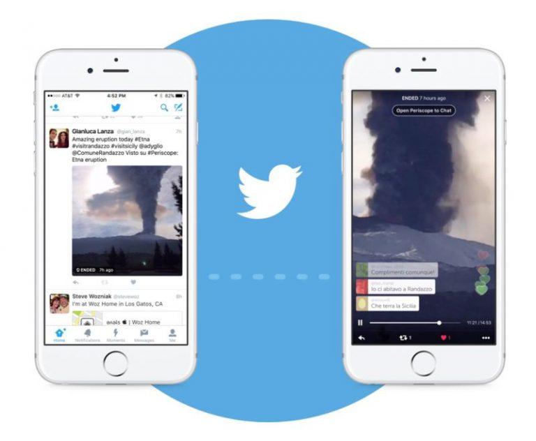 Video Periscope Kini Bisa Ditonton Langsung di Twitter