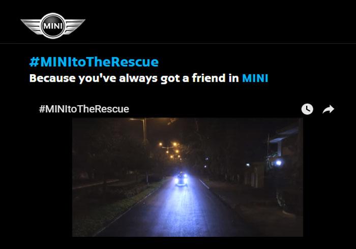Melalui Program MINI to The Rescue, MINI Beri Kejutan untuk Warga Jakarta
