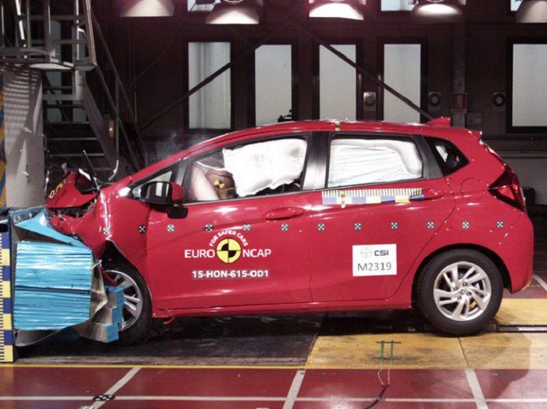 Uji Keselamatan, All New Honda Jazz Raih Bintang Lima Versi EURO NCAP
