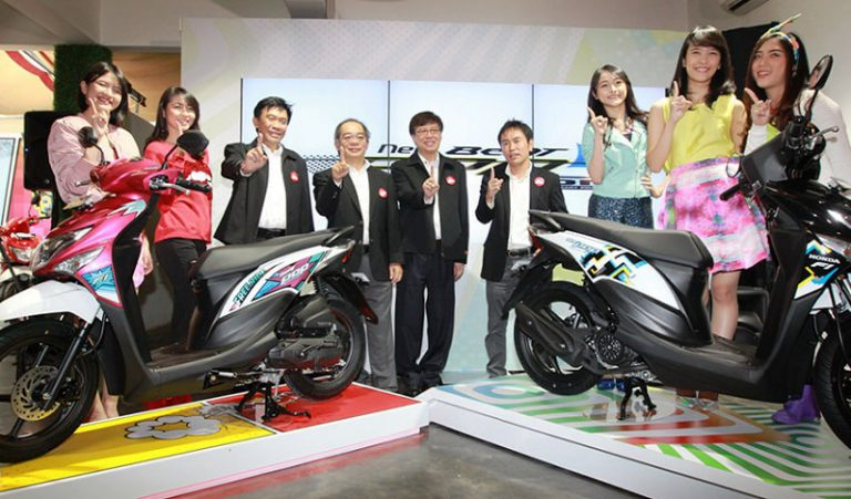 Manjakan Anak Muda, AHM Perkenalkan New Honda BeAT POP eSP dengan Stripe Lebih Atraktif