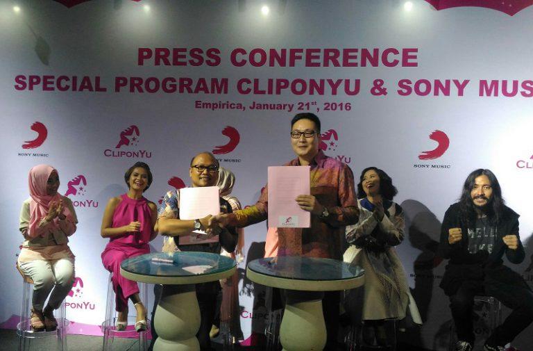 Kolaborasi CliponYu dan Sony Music Indonesia, Boyong 8 Penyanyi jadi Host