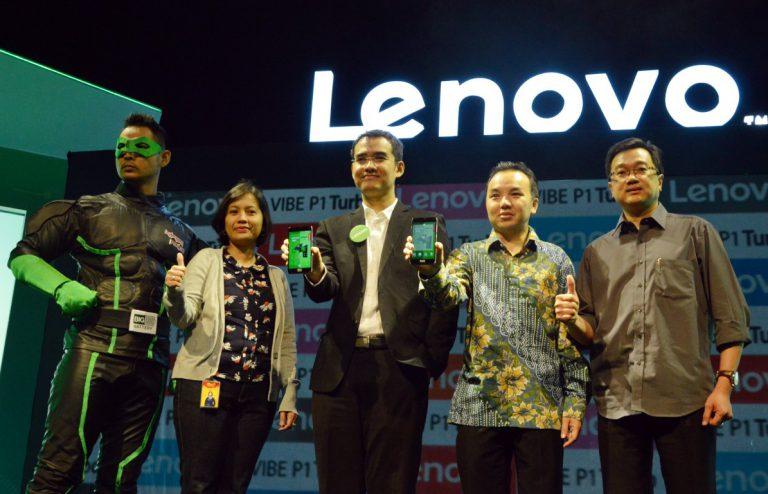 Awal Tahun, Lenovo Hadirkan Kapten Power VIBE P1 Turbo dengan Baterai 5.000 mAh