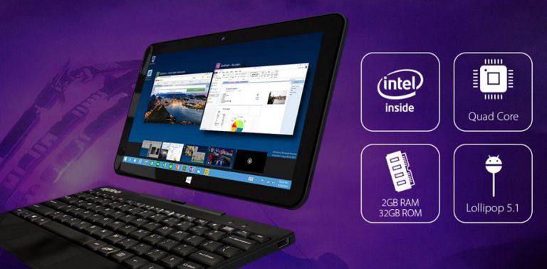 Windroid 10G+, Tablet Dual OS Terbaru Racikan Axioo