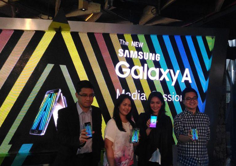 Samsung Luncurkan Rangkaian Galaxy A: Galaxy A3, Galaxy A5, dan Galaxy A7