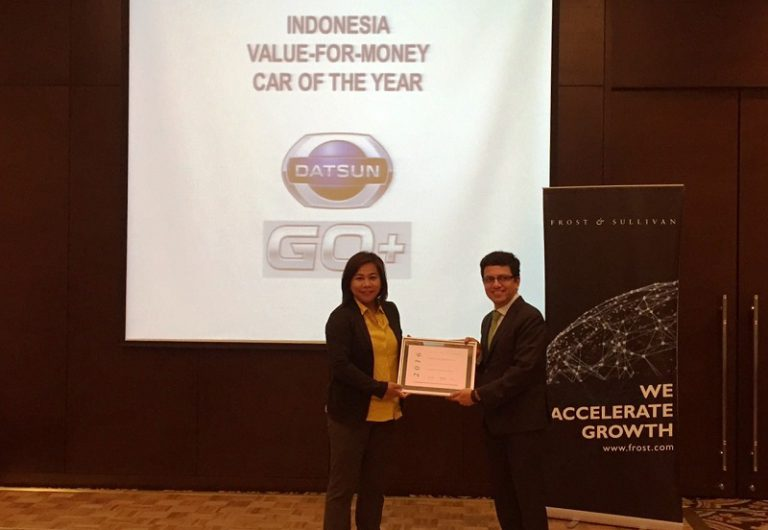 Datsun GO+ Panca Raih Penghargaan Indonesia Value-For-Money Car of the Year