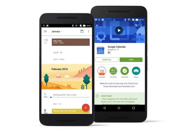 Google Update Aplikasi Google Calendar dengan Smart Suggestions dan Holidays