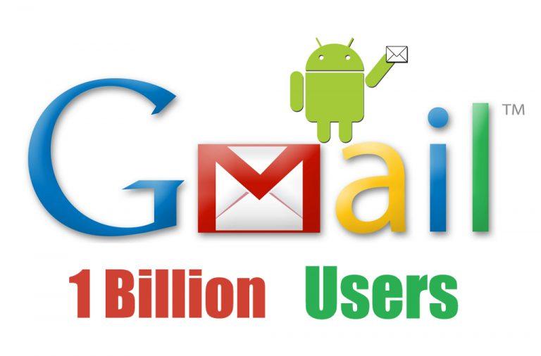 Gmail Menjadi Layanan Ketujuh Google yang Capai Satu Miliar Pengguna Aktif