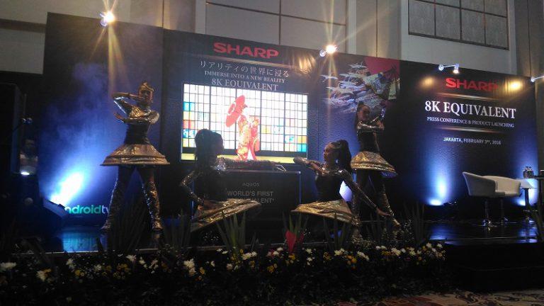 SHARP Perkenalkan TV Android dengan Resolusi Setara 8K untuk Pasar Indonesia
