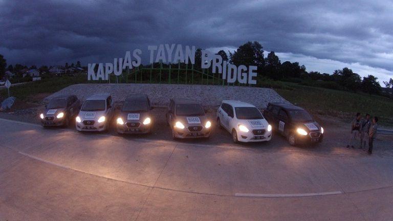 DRE: Buktikan Ketangguhan Datsun GO+ Panca Lahap Jalur Ekstrim di Kalimantan