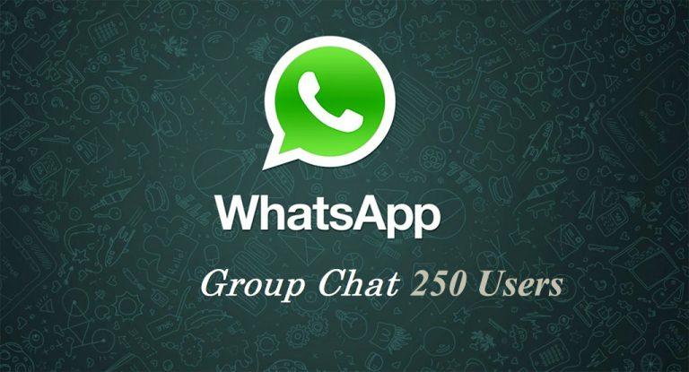 WhatsApp Terbaru Telah Mendukung 256 Pengguna dalam Satu Group Chat