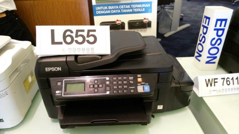 Epson Masuki Generasi Ketiga untuk Printer Sistem Tangki