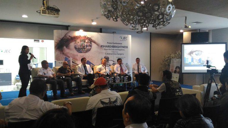 RS Mata JEC Gelar Bakti Katarak, Gandeng HOG Jakarta serta MedDocs and Friends