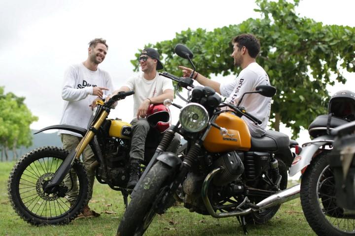 Melalui Moto Guzzi, Piaggio Indonesia Promosikan Lombok dalam Indonesia Moto Adventure 2016