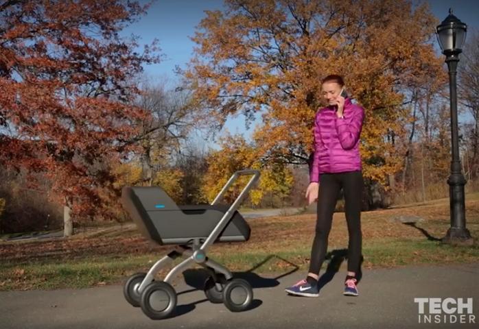 Smartbe, Baby Stroller yang Dapat Dikontrol Otomatis