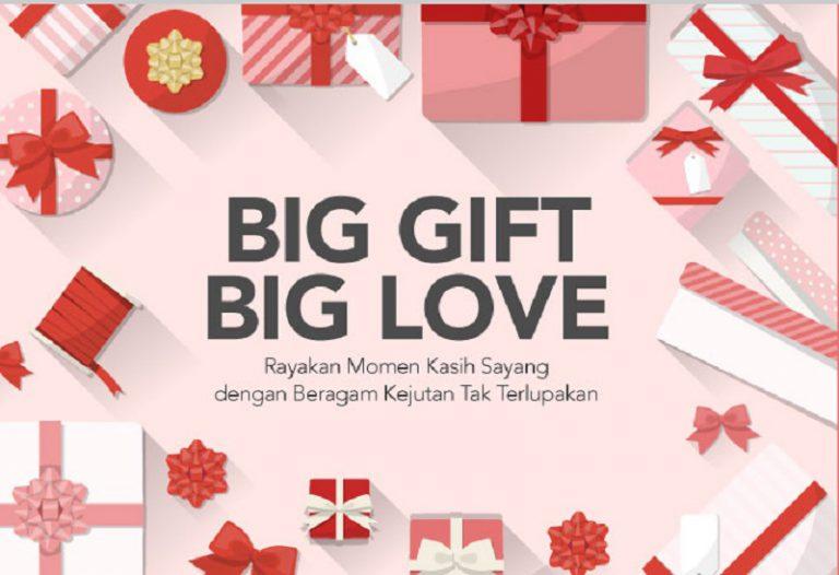 "Ramaikan Hari Kasih Sayang, Blibli.com Gelar Program ""Big Gift Big Love"""