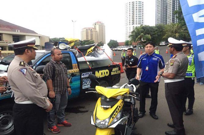 Yamaha Donasikan Mio M3 dan All New Soul GT untuk Siaga Banjir di Jakarta