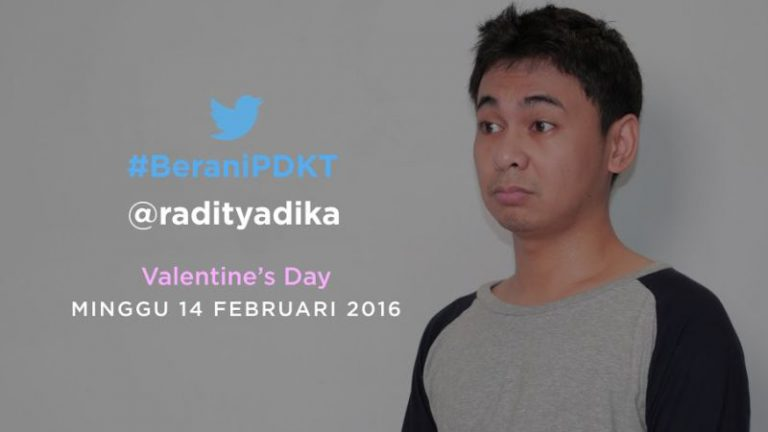Masih Jomblo di Hari Valentine? Twitter dan Raditya Dika Siap Berikan Solusinya!