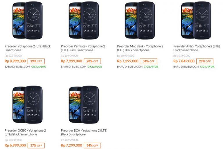 Tertarik Beli Yotaphone 2? Inilah Harganya di Pasar Indonesia