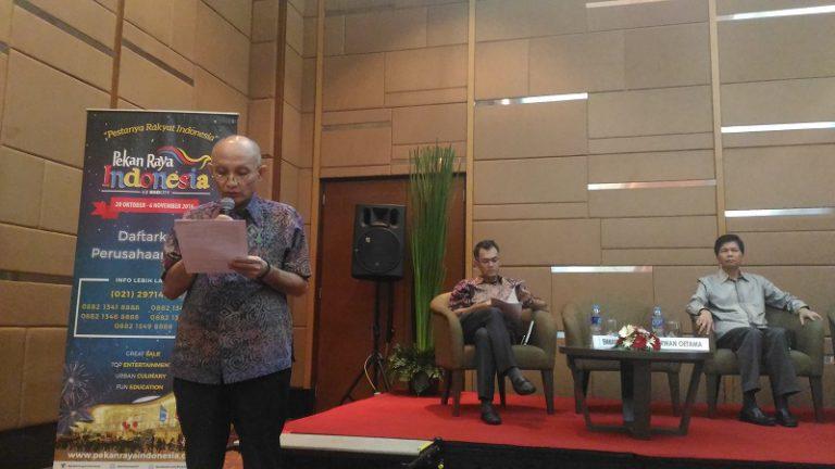 Pertama Kali! Pekan Raya Indonesia Akan Digelar di ICE BSD