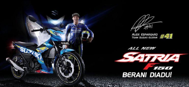 All New Satria F150 Resmi Mengaspal di Jalanan Indonesia