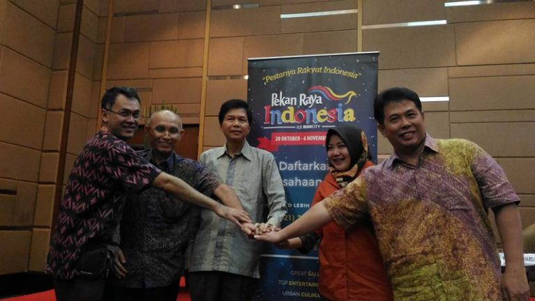 Pekan Raya Indonesia Targetkan Pengunjung Hingga Satu Juta Orang