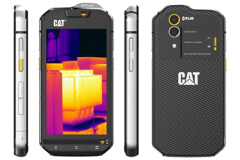 CAT S60: Smartphone Pertama dengan Kamera Pengukur Panas Terintegrasi