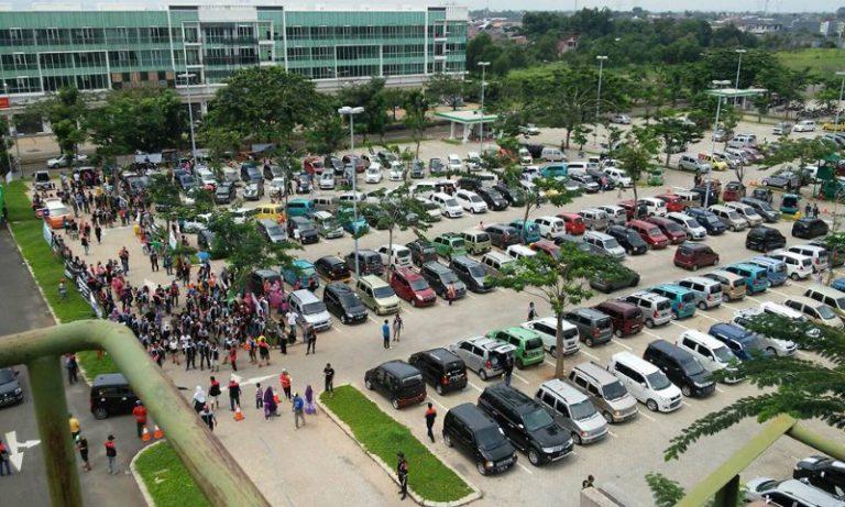 Karimun Club Indonesia Cetak Rekor: 365 Suzuki Karimun Ramaikan Kopdar Akbar