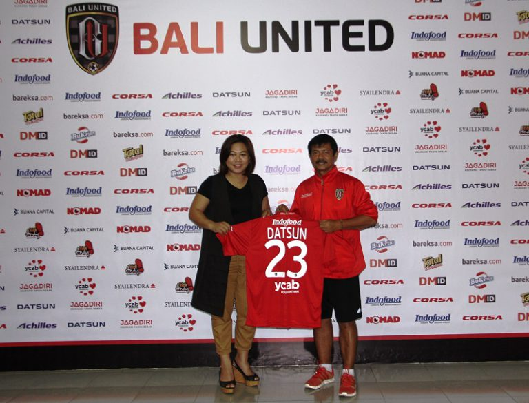 Setelah Persib, Giliran Bali United Disponsori Datsun