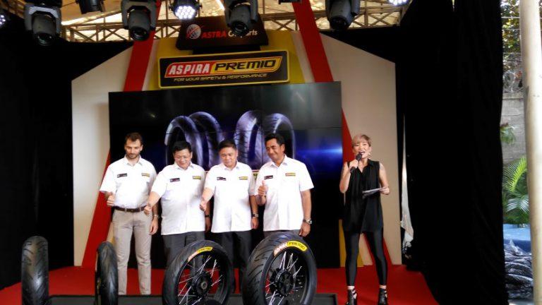 Bekerjasama dengan Pirelli, Astra Otoparts Hadirkan Ban Aspira Premio untuk Rider Roda 2