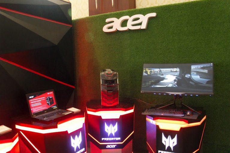 Bangun Game Theater di SMW 2016, Acer Pamerkan Keunggulan Predator Series