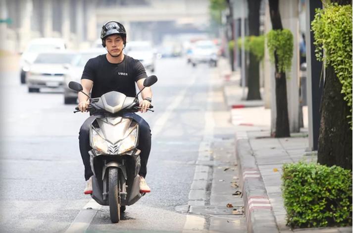 Di Bangkok, Uber Hadirkan Layanan UberMOTO Sebagai Pilot Program