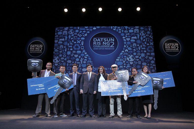 Inilah Lima Jagoan Kompetisi Ide Bisnis di Datsun Rising Challenge 2