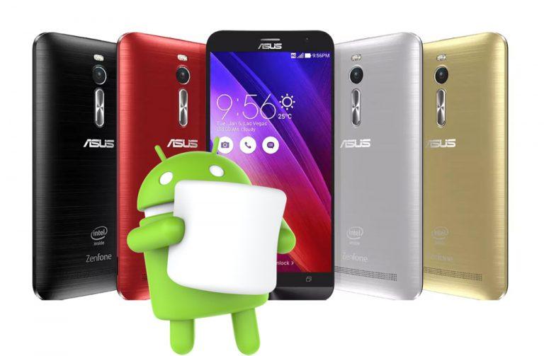 Ini Daftar Asus Zenfone 2 yang akan Mendapat Update Android 6.0 Marshmallow