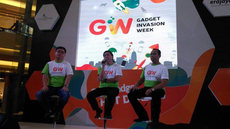 Gabungkan Tiga Konsep, Erafone Gelar Gadget Invasion Week di Jakarta