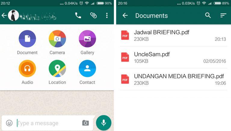 Pengguna WhatsApp Kini Bisa Bertukar Dokumen, Dimulai dengan Format PDF